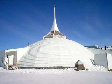 A large dome structure in Canada